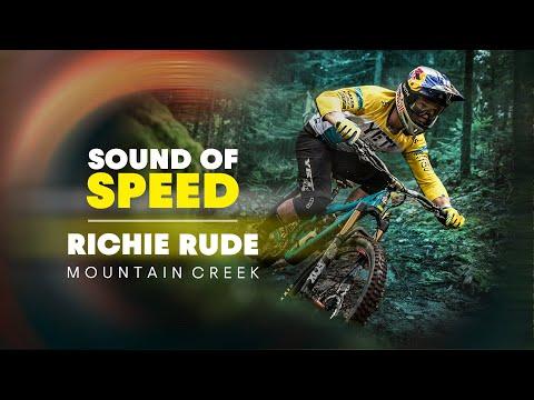 Raw MTB: Richie Rude Tears Up Mountain Creek Bike Park | Sound of Speed