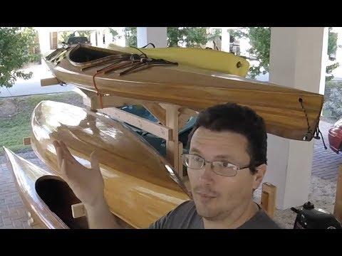 Building a Kayak Rack for 6 Boats