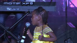 Newie ft.  Adie - Teach me your ways Jesus (Live): She is only 4 years old).