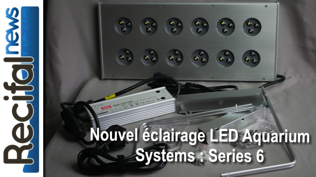 Eclairage Led Cinema Nouvel éclairage Led Aquarium Systems Series 6