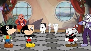 Mickey mouse in Cuphead  (ft. OneyPlays)