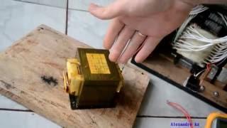 Qual a tensão de um transformador de micro ondas