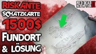 1500$ Riskante Schatzkarte Guide - Red Dead Redemption 2 Deutsch Tipps & Tricks