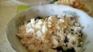 Простой и вкусный салат из лука и картофеля по рецепту Ольги Николаевны.