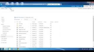 SharePoint 2013: كيفية إنشاء عرض