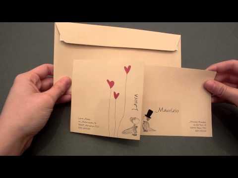Partecipazione Nozze 50 sfumature di grigio Tutorial Nozzeggiando from YouTube · Duration:  4 minutes 42 seconds