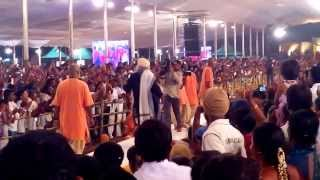 Sadhguru Dancing at Mahashivarathri Function at Isha Yoga Centre