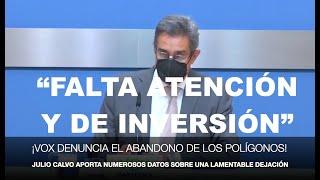 ¡VOX ZARAGOZA DENUNCIA EL OLVIDO DE LOS POLÍGONOS INDUSTRIALES!