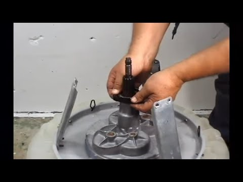 Transmission Replacing Performa Washer Youtube