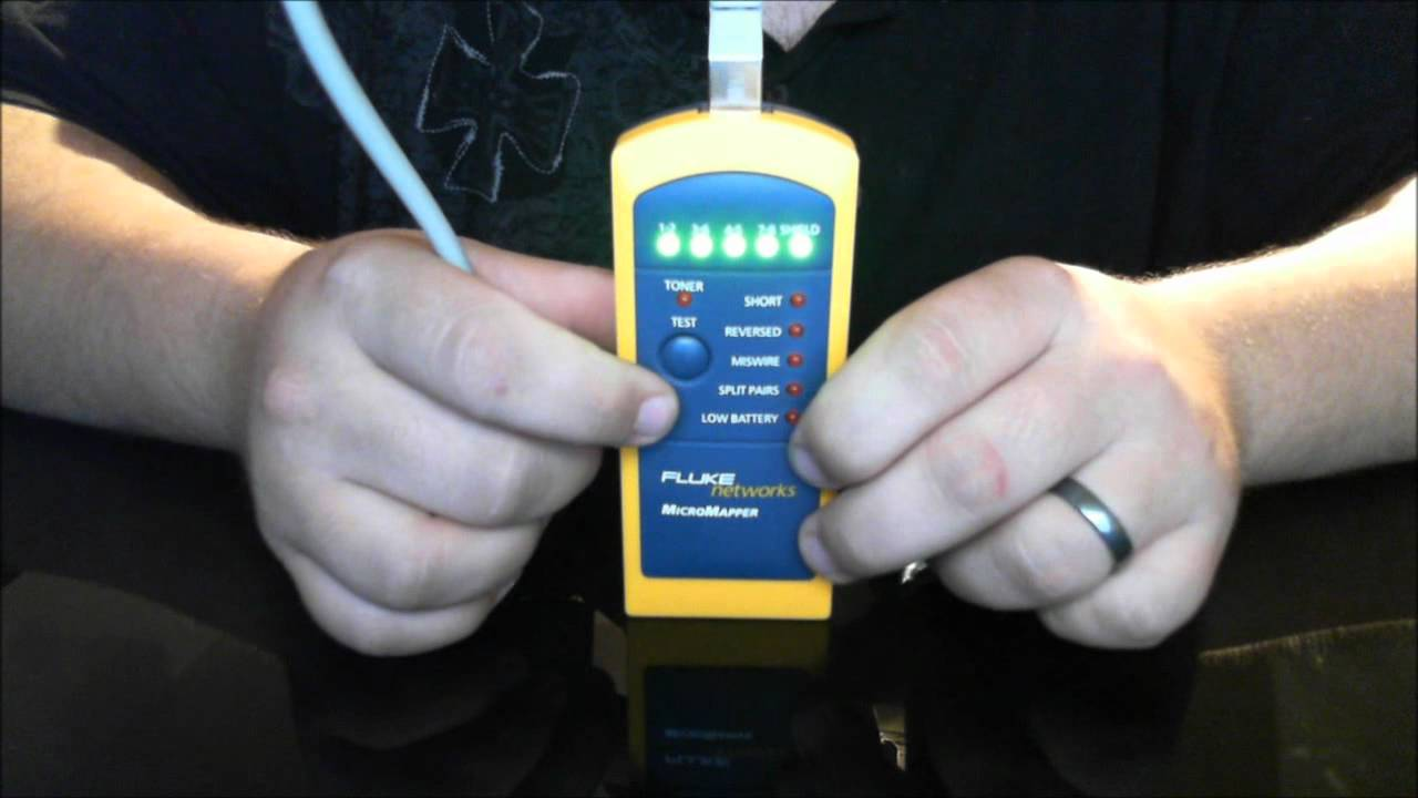 Fluke Networks Micromapper Review Youtube