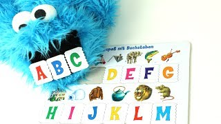 A-B-C Cookiemonster / Learning the alphabet / english