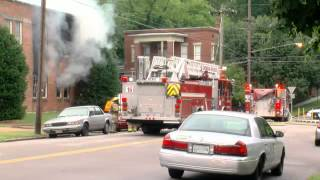 Kitchen Fire at a Local Church in North Chattanooga