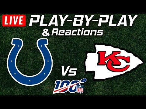 Colts Vs Chiefs    Live Play-By-Play & Reactions