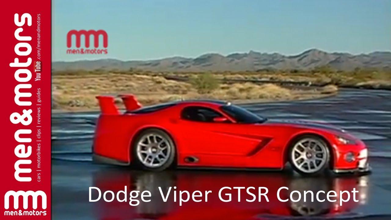 Dodge Viper Gtsr Concept Youtube