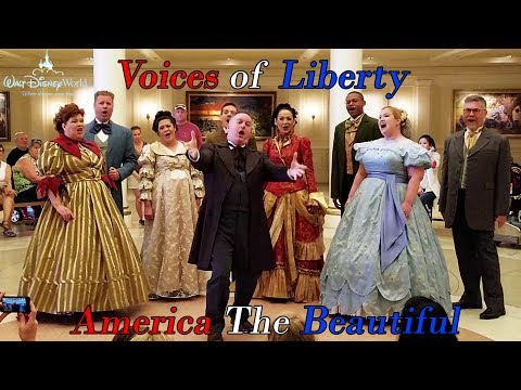 Voices Of Liberty Perform America The Beautiful At Walt Disney World