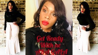 GET READY WITH ME FOR THE AKA GALA #whattowear #howtostyle