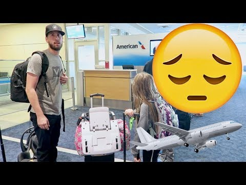 WE MISSED OUR FLIGHT!