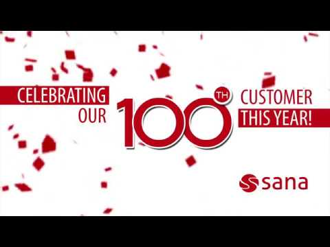 Aftermovie 100th Customer 2017 -  Sana Commerce