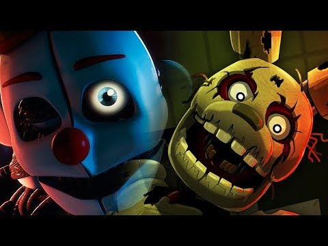 O RETORNO DO SPRINGTRAP E ENNARD! FIVE NIGHTS AT FREDDY'S 6 ULTIMATE CUSTOM NIGHT!