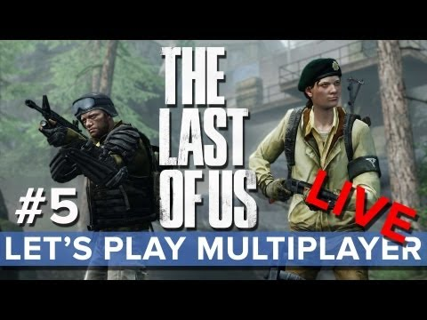 The Last of Us - Let's Play Multiplayer LIVE #5 - Eurogamer