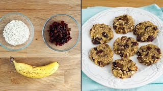 Печенье из Трех Ингредиентов Без Сахара, Яиц, Масла и Муки! | 3 ingredient cookies | Tanya Shpilko