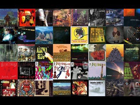 #1 CRAZY SOLOS OF THE BUCKETHEAD 2017 (Studio Version Compilation)