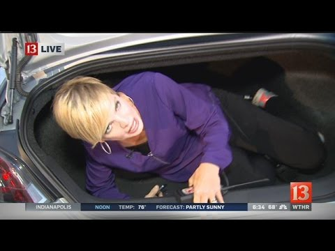 How to get out of a locked trunk - YouTube