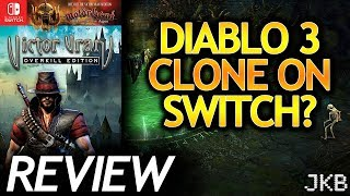 Victor Vran: Overkill Edition Nintendo Switch Review   JKB