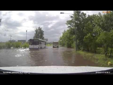 Наводнение в Удомле