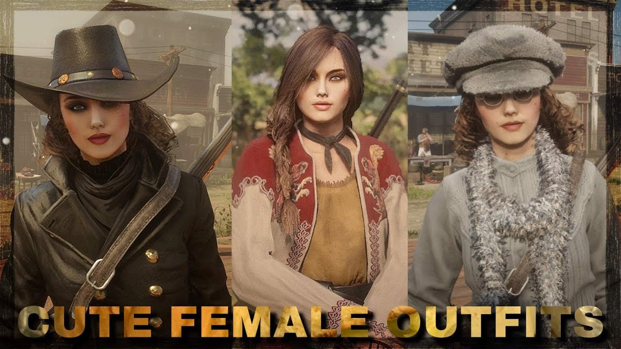 Red Dead Online  Cute Female Outfit Ideas