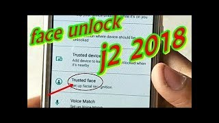 How to install face unlock in j2 2018   j250f