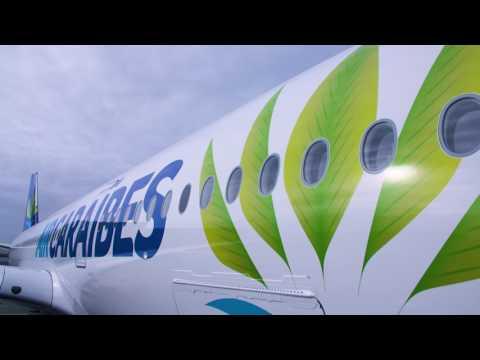 Air Caraïbes : le premier Airbus A350 XWB français !
