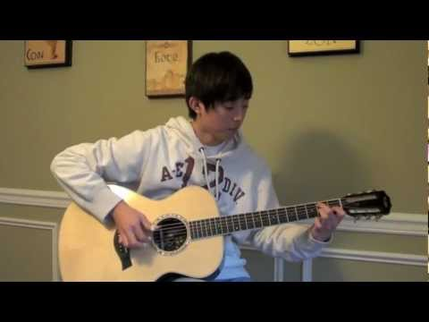 Sungmin Lee feat. Alex Chung: Jung Yong Hwa - Banmal Song - Acoustic Fingerstyle Guitar Cover - TAB