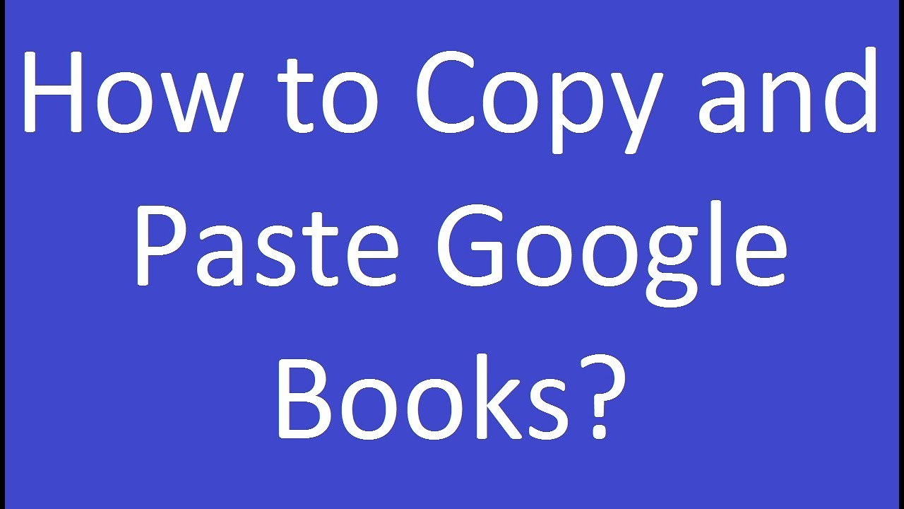 Google Boeken En Pdf