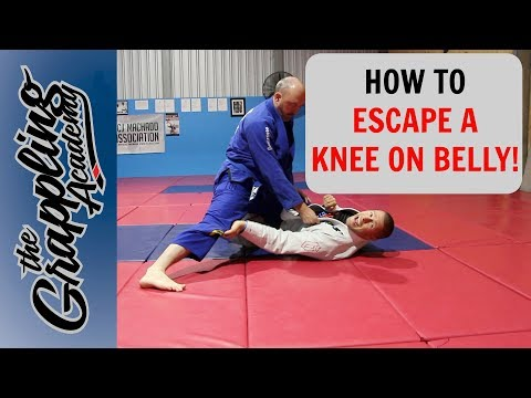 How To Escape The Knee On Belly!
