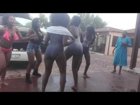 Friends after having a pool party and sipping on Russian bear starts dancing for  gobisiqolo thumbnail