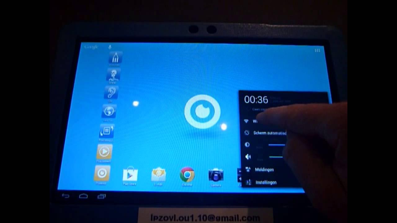 Verbinding Maken Met Draadloos Netwerk Met Een Android Tablet Upload