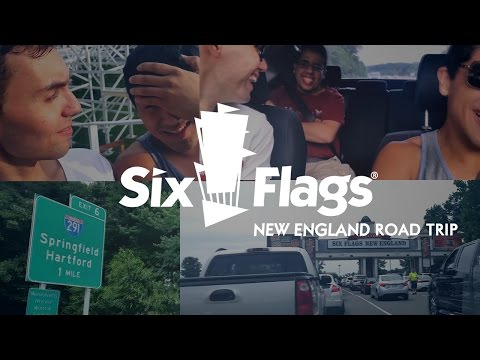 A ROAD TRIP TO SIXFLAGS NEW ENGLAND [SUMMER 2014] (VG02)