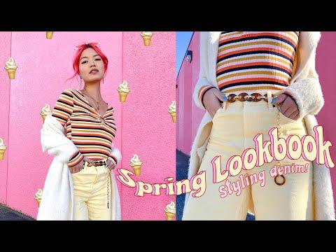 SPRING LOOKBOOK | How to Style Denim