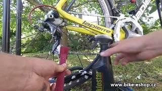 Čistíme řetěz u jízdního kola