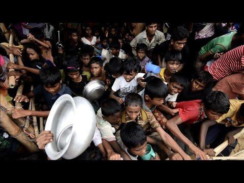 Rohingya stuck in Bangladesh camps