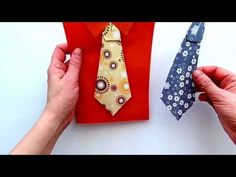 How to make a Tie out of Paper? Beautiful Origami Tie for 2 Minutes