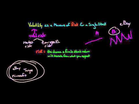 Volatility and the Risk Premium of a Single Stock