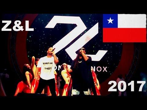 Zion & Lennox Concierto En Vivo    Crush Power Music 2017    Chile