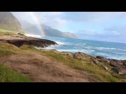 Hawaii Beach Waves - Waianae,Hawaii