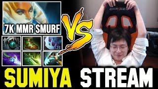 Can SUMIYA deal with 7K MMR Streamer (Full Slotted)? Sumiya Invoker Stream Moment #793