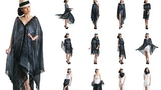Amaryllis Convertible Kaftan in different ways - How to Wear YAY Convertible Beach Wrap