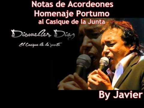 Notas de Acordeones Homenaje postumo a Diomedes Diaz