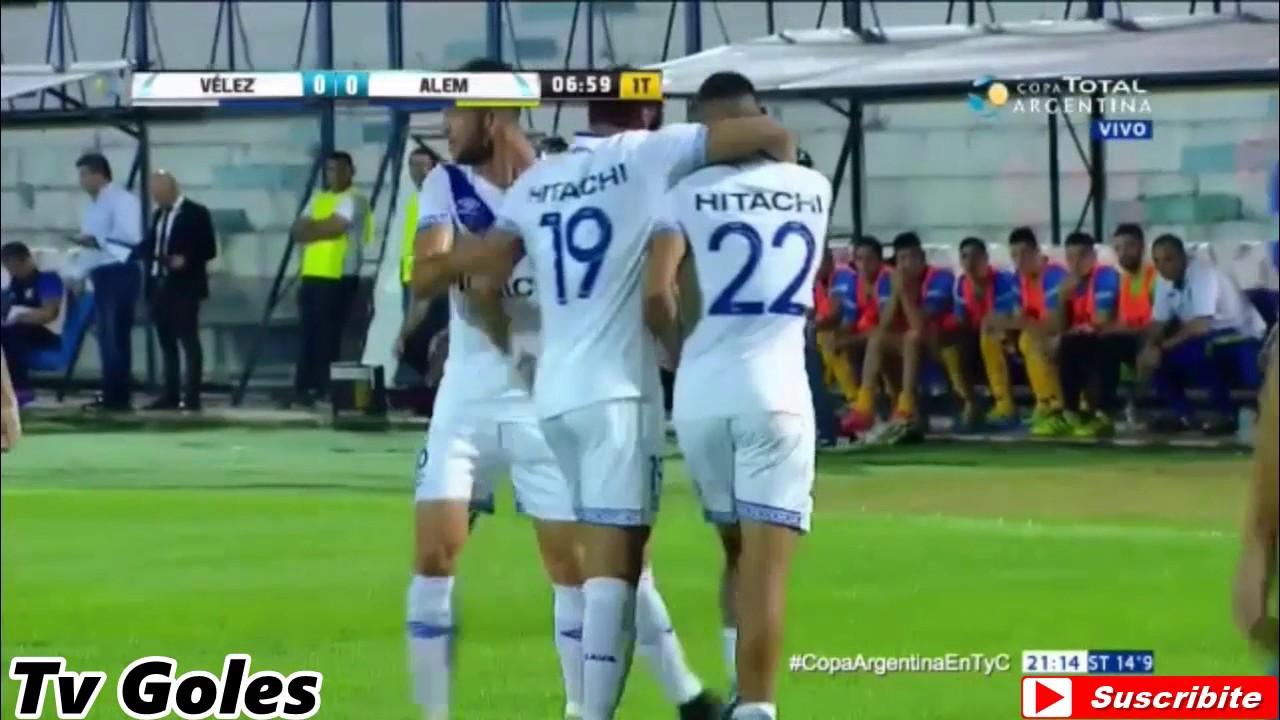Velez Sarsfield 1-0 Leandro N Alem