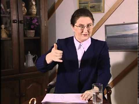 Курс жестового языка, Урок 21